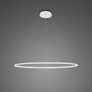 Lampa wisząca Ledowe Okręgi No.1 Φ80 cm in 4k biała Altavola Design