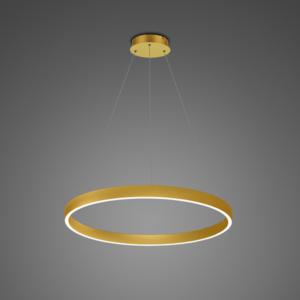 Ledowa lampa wisząca Billions No.4 - 80 cm - 3k złoty Altavola Design