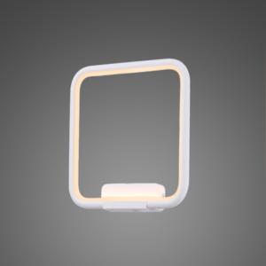 Kinkiet na klatkę schodową - Ledowe Kwadraty no. 1 in 3k biały Altavola Design