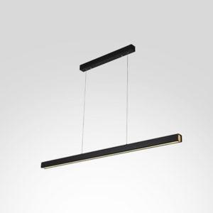 Lampa wisząca LINEA No.4 120cm czarna 3k Altavola Design