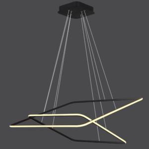 Altavola Design: Lampa wisząca Ledowe Kwadraty No. 2 out 3k czarna