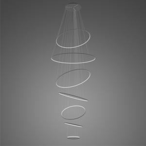 Lampa wisząca Ledowe okręgi No.7 czarna 4k ściemnialna Altavola Design