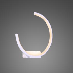 Altavola Design: Kinkiet Ledowe Okręgi no. 1 moon in 3k biały