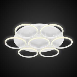Altavola Design: plafon Ledowe Okręgi 7 biała out 3k
