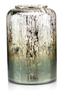Lampion glass&green&opal MARETA_Aluro L