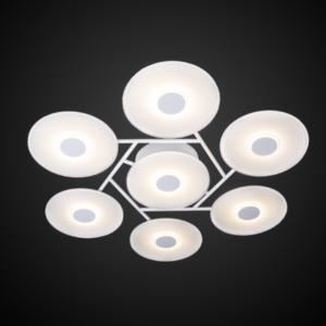 Minimalistyczna lampa LED sufitowa – VINYL 7 Altavola Design