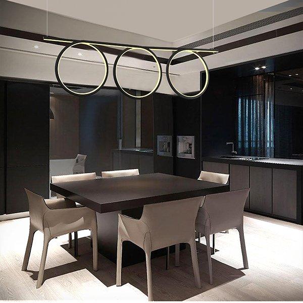lampy wiszące w salonie